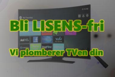 Plombering av TV for NRK lisens
